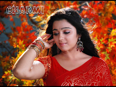 South Actress Charmi Wallpapers