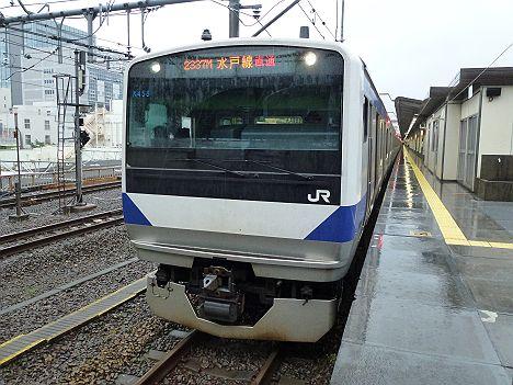 水戸線直通臨時快速 笠間deおさんぽ号 笠間行き E531系