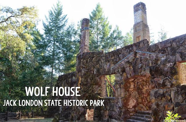 Wolf House, Jack London State Historic Park, Californie