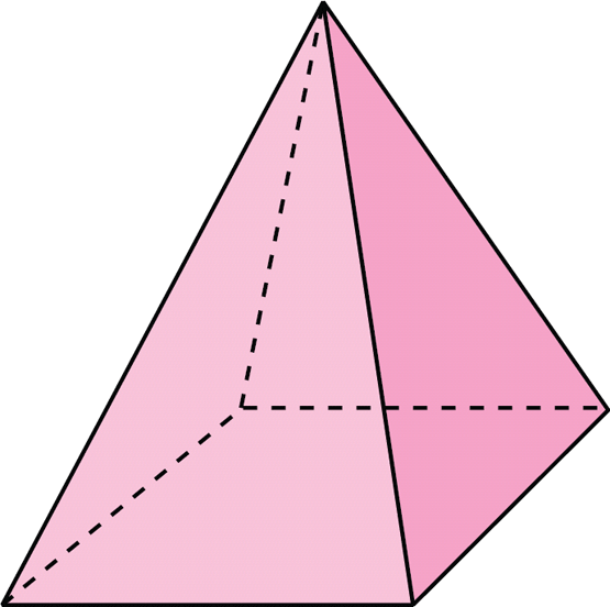 Pirámide hexagonal - Imagui