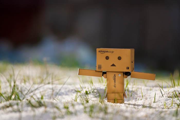 Boneka Kardus Danbo - Pola Danbo   Danbo Paper Craft