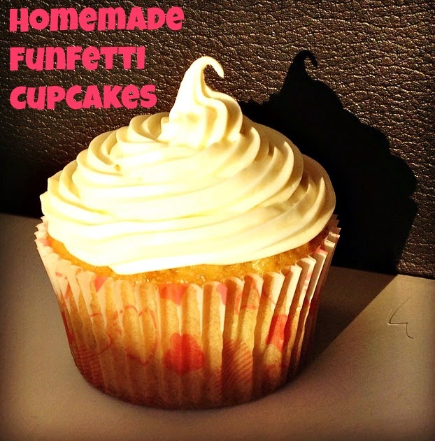 homemade funfetti cupcake recipe