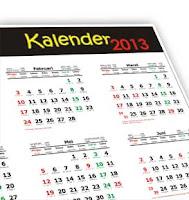 Kalender 2013 Format CorelDraw (Kreasi 1)