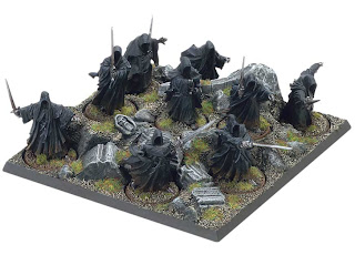 nazgul tray wotr games workshop
