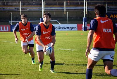 Los Pumas para jugar ante Uruguay