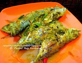 Resep Ikan Kembung Goreng Bumbu Pesmol