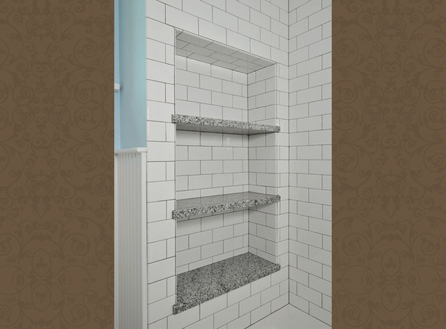 Tile Shower Niche Insert