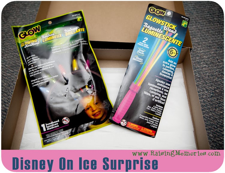 How to Gift Disney On Ice Tickets by www.RaisingMemories.com