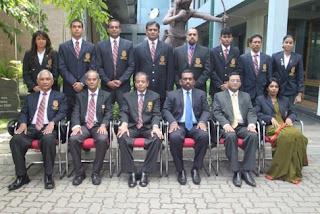 Sports minister Mr.Mahindananda Aluthgamage,30 Sports officers