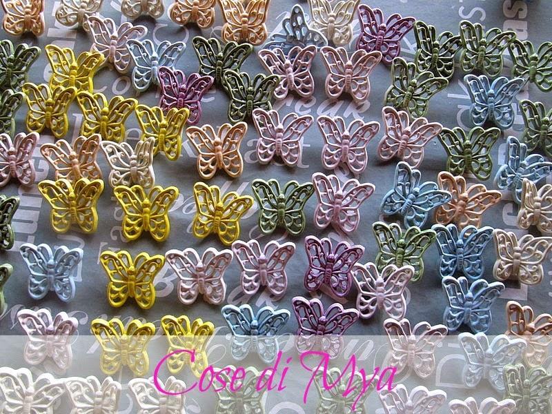 Farfalle di ceramica
