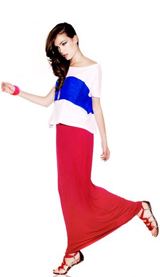 faldas largas verano 2011