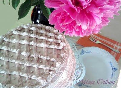 epres születésnapi torta fehércsokoládéval