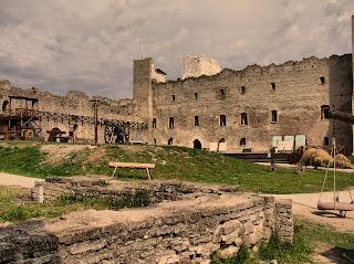 Крепость Раквере в Эстонии