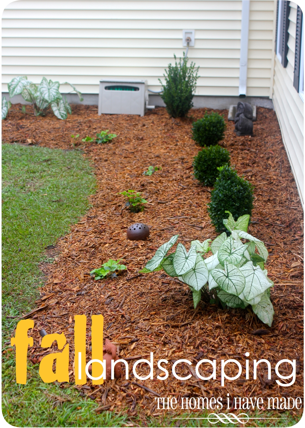 Fall Landscaping Fall Landscaping Outside Update The Homes I Have Made