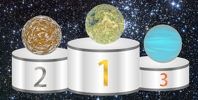 "UW astronomers Rory Barnes and Victoria Meadows of the Virtual Planetary Laboratory have created the ""habitability index for transiting planets"" to compare and rank exoplanets based on their likelihood of being habitable. Credit: Rory Barnes"
