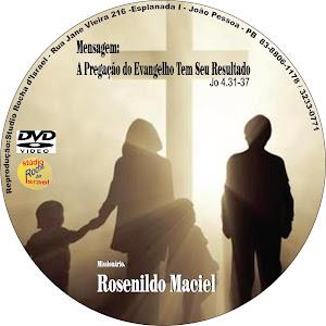 DVD- Pregação ao vivo.