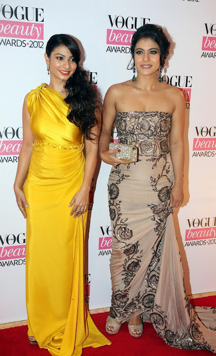 kajoltanisha mukhrjee at vouge beauty award. latest photos
