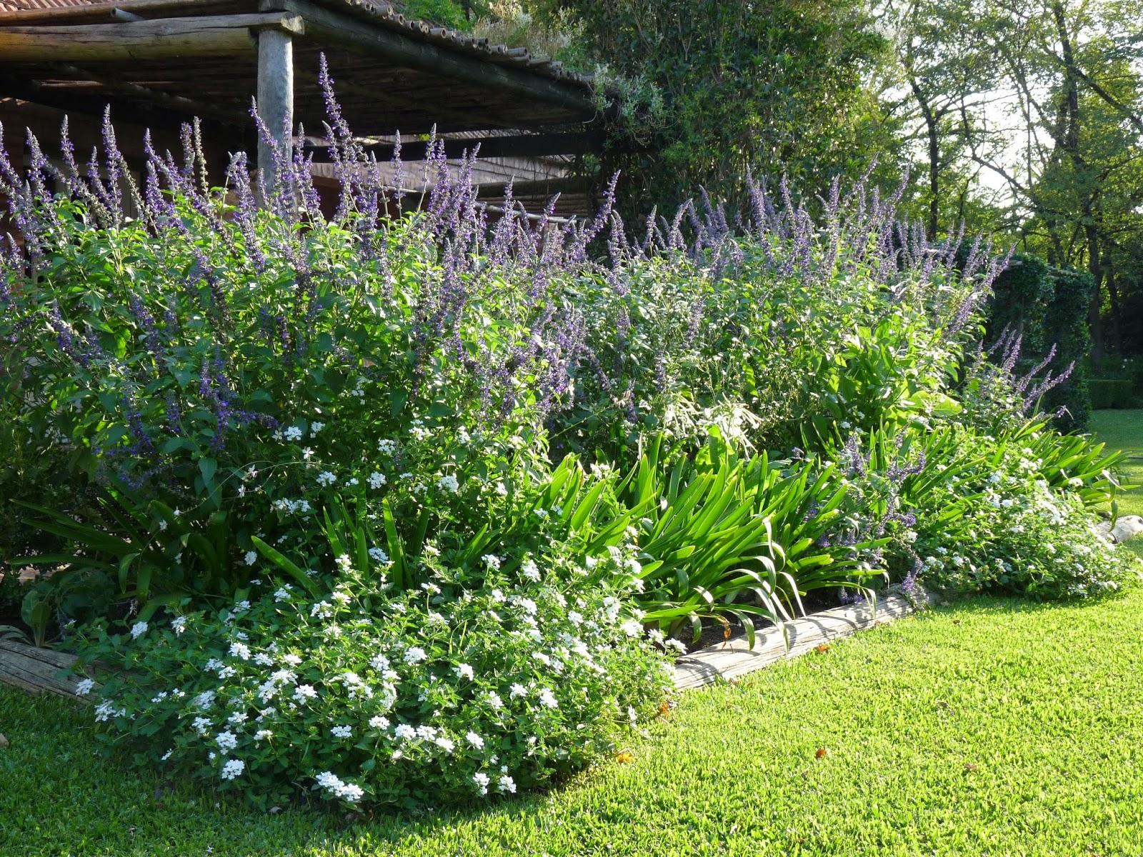 En el jardin bienvenido oto o 2015 for Canteros con piedras y plantas