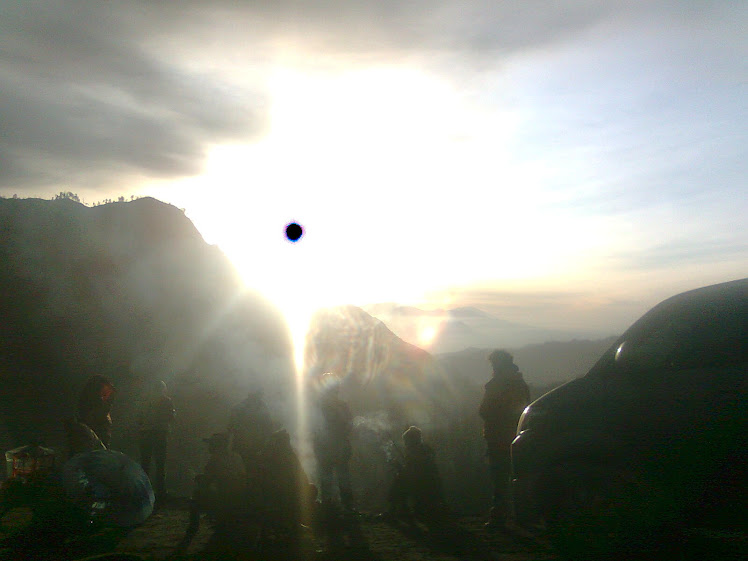 Sunrise on Mount Bromo III