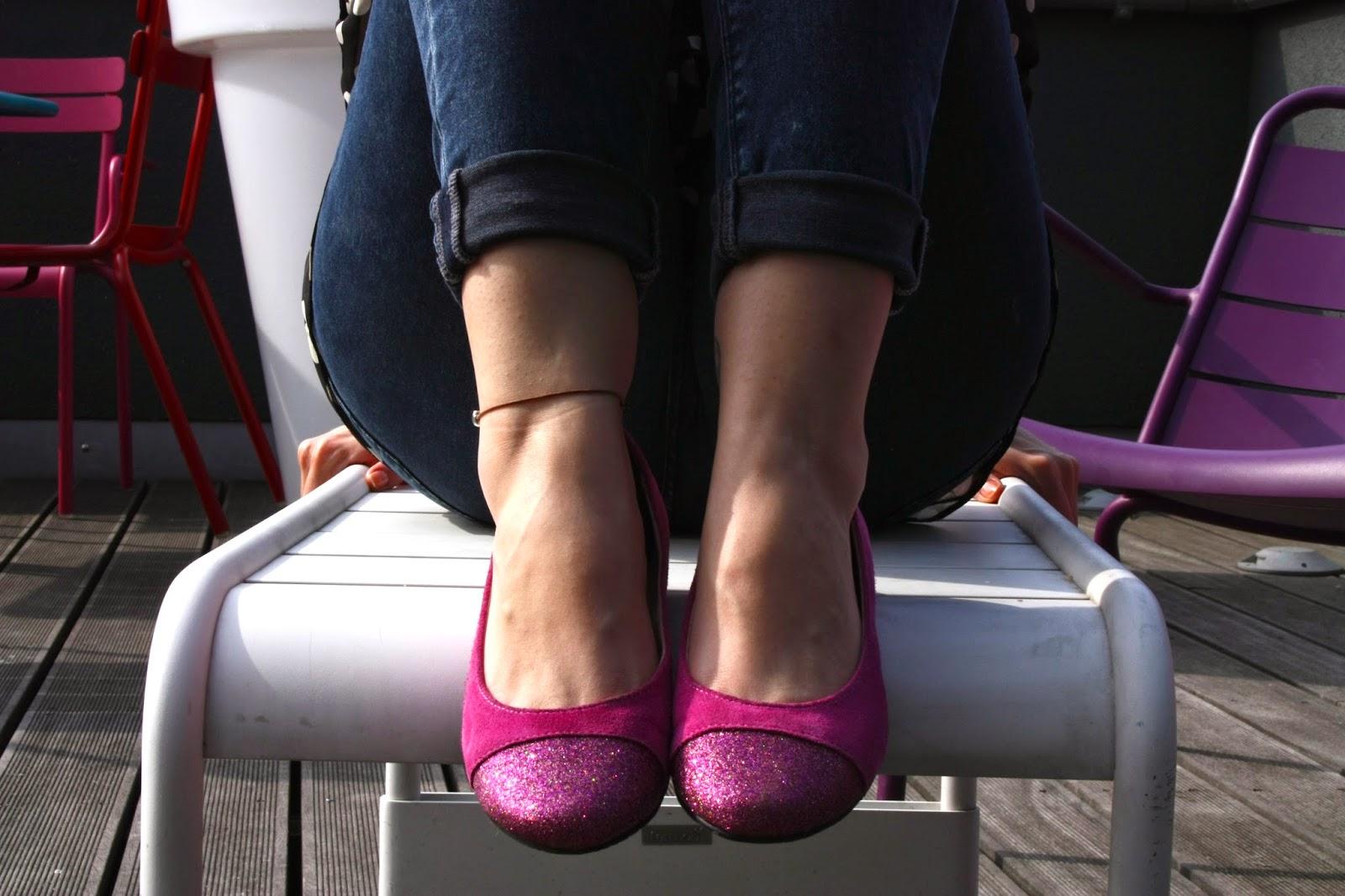 OOTD Clarks Ballerinas Flussperle Blog primark Urban Outfitters