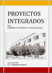 Proyectos Integrados Bachillerato Curso 2014/15