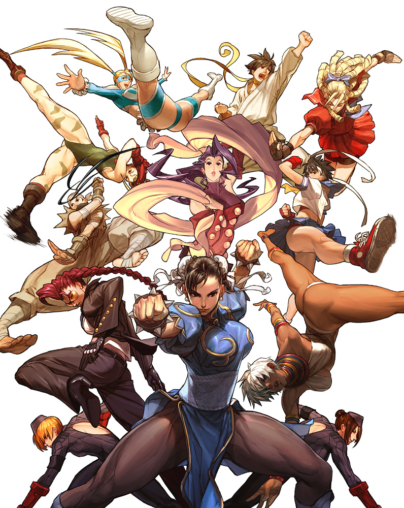 Street Fighter HD & Widescreen Wallpaper 0.276284345669709
