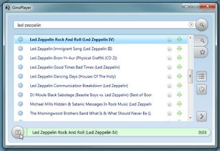 GinoPlayer : Music Player Desktop Untuk Streaming Dan Download Lebih dari 40 Juta Lagu