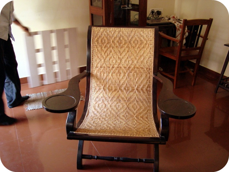 Check this gorgeous Antique beauty.This is a 110 year old easy chair.Vintage  furniture at its best.Made of cane for the seating& back rest with rosewood  ... - The Design Enthusiast: Antique Chairs And More Vintage Love ~ Guest