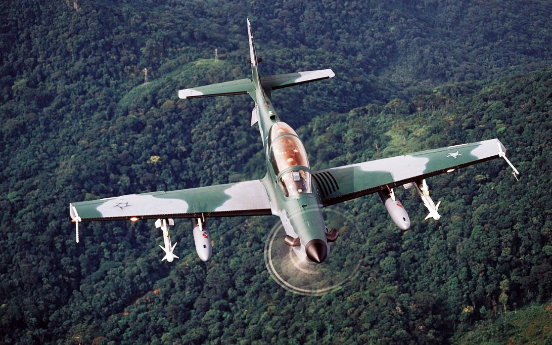A-29 Super Tucano Aircraft Wallpaper 2