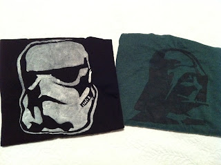 Star Wars Ts by Cicely Ingleside