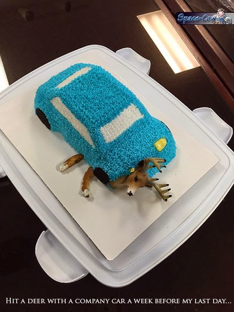 funny retirement cake picture