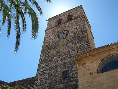 Iglesia+de+San+Bartolomé+ +Jávea Bidi, QR y Smartphones en Jávea Xàbia (Costa Blanca)