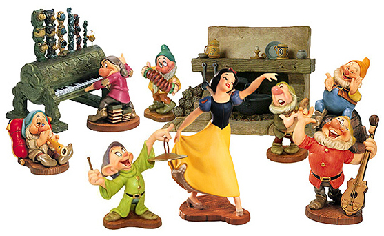 Lego Snow White And The Seven Dwarfs Snow White And The Seven