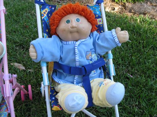 Doll Stroller Liner Tutorial ~ Threading My Way