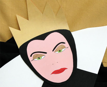 Printable Evil Queen Mask