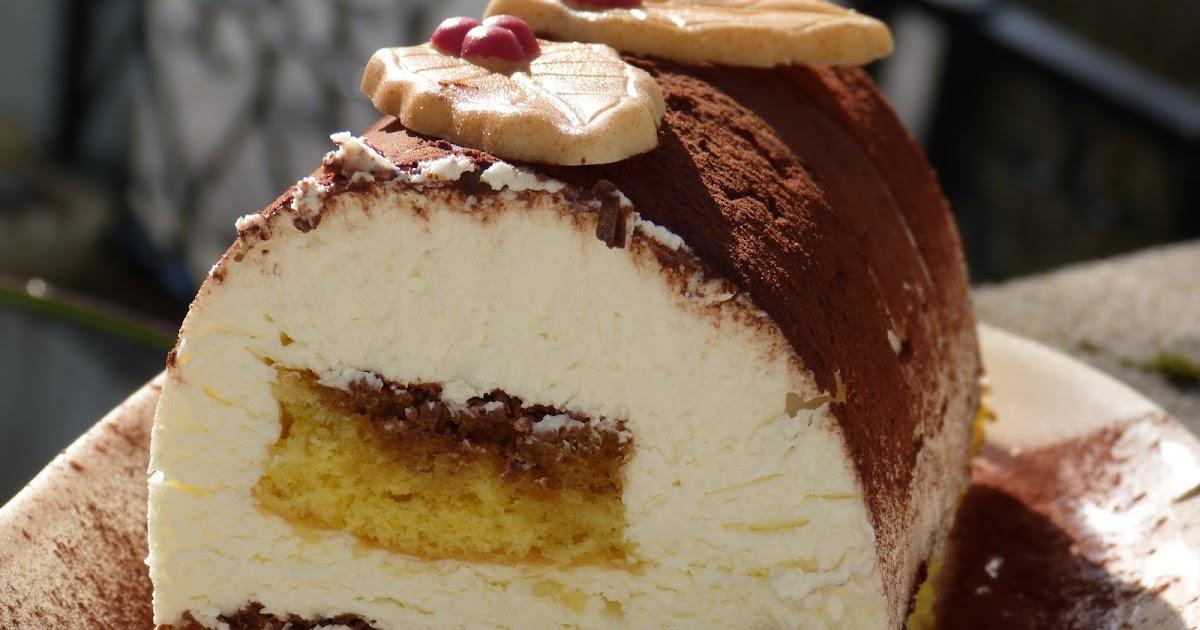 Buche Cheese Cake Sans Cuisson