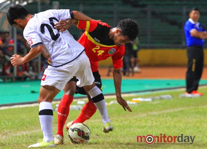 Timor Leste uma seleção que abusou do samba para vencer