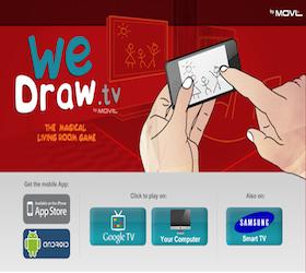 We Draw TV Google TV App