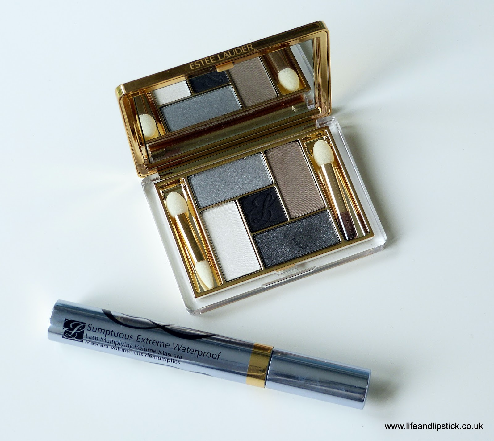 Estée Lauder Pure Color Five Color EyeShadow Palette, Film Noir