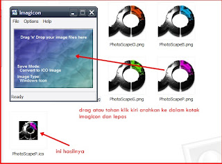 Cara Membuat icon Software atau Windows Dengan Imagicon