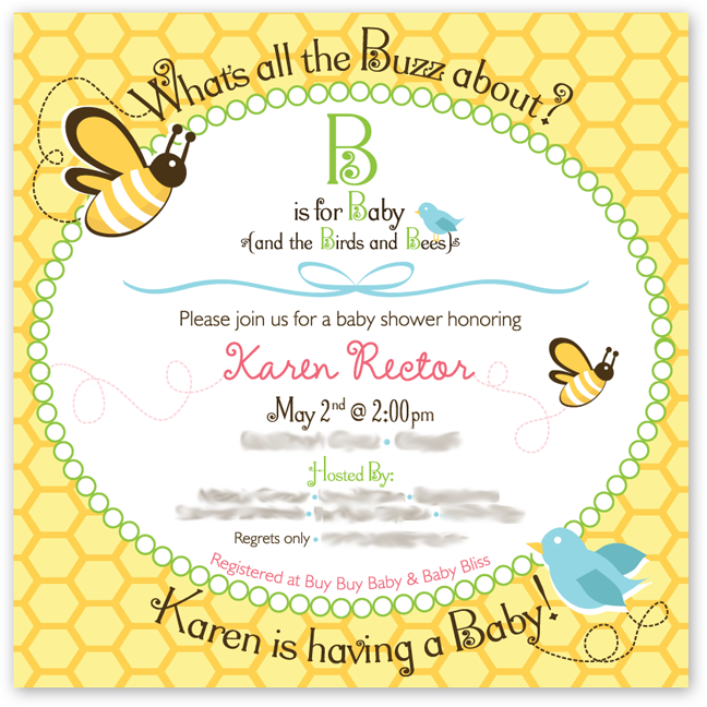 baby shower invitation wording with babys name brain things b is