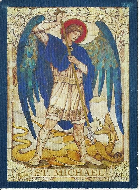 St. Michael the Archangel defend us in battle