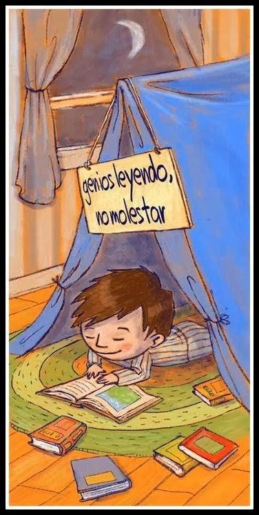 ESTOY LEYENDO, NO MOLESTAR
