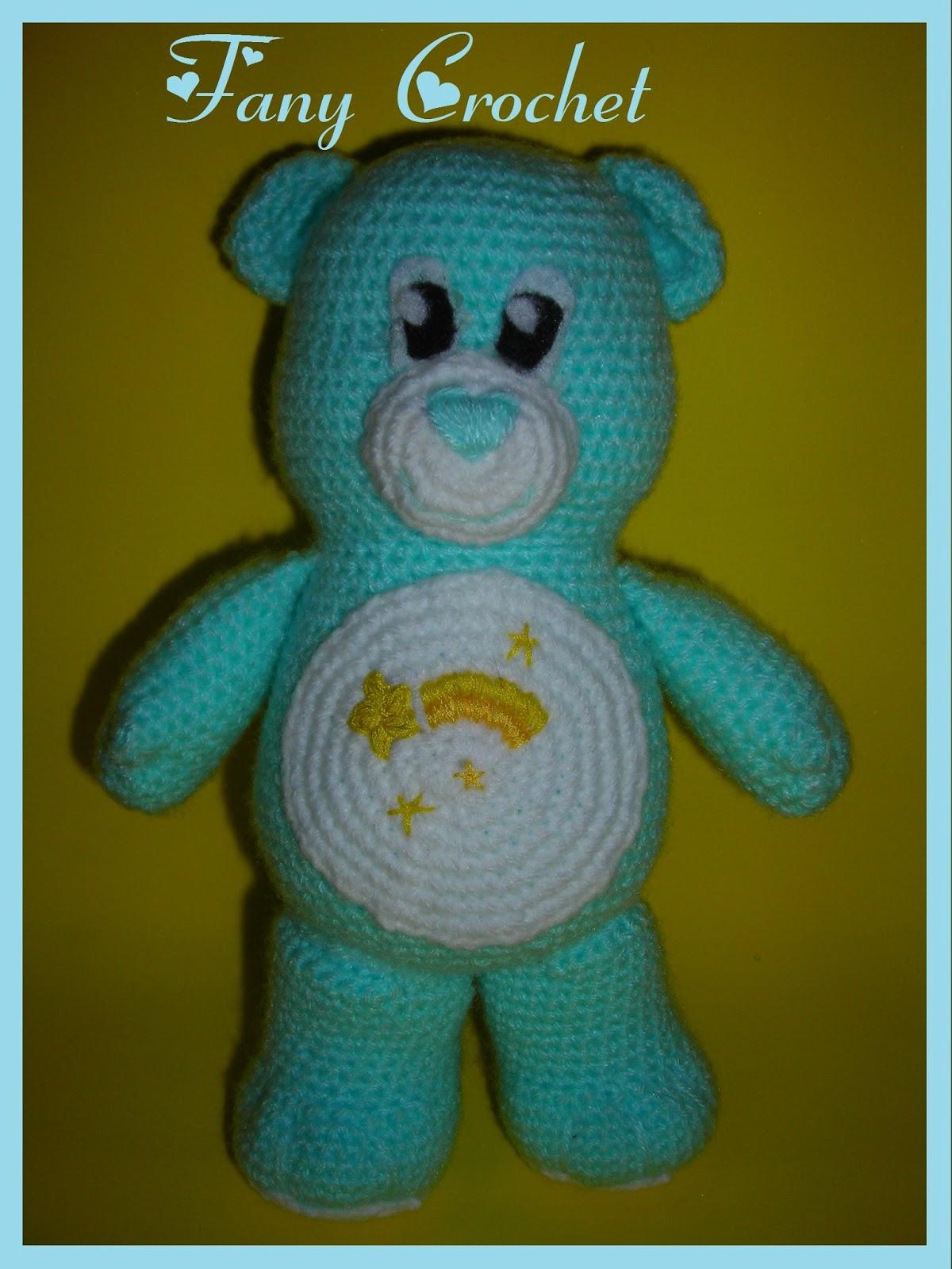 Fany Crochet: Patron osito cariñoso