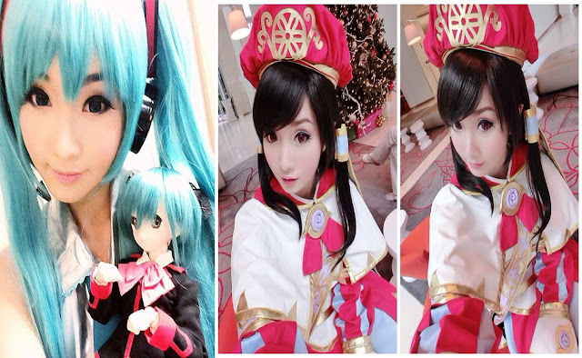 Alodia Gisengfiao cewek mirip anime dan barbie