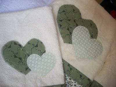 toalah coração patchaplique