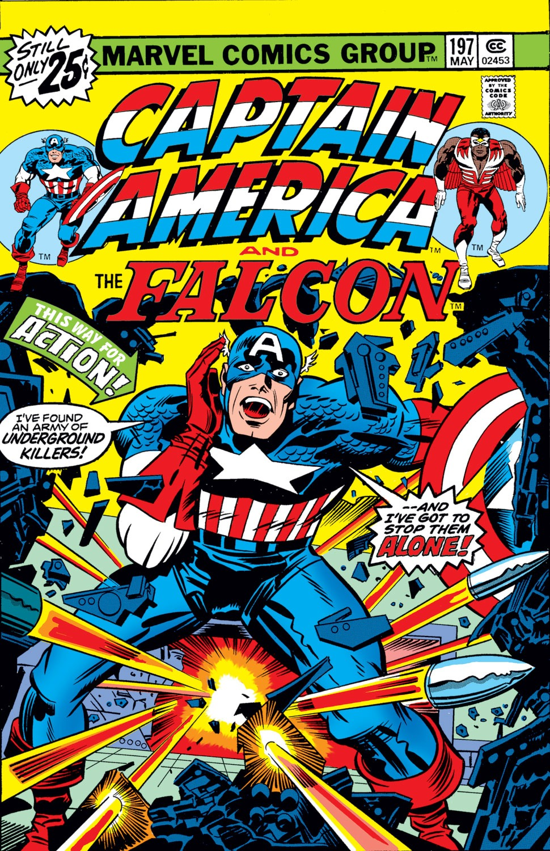 Captain America (1968) Issue #197 #111 - English 1