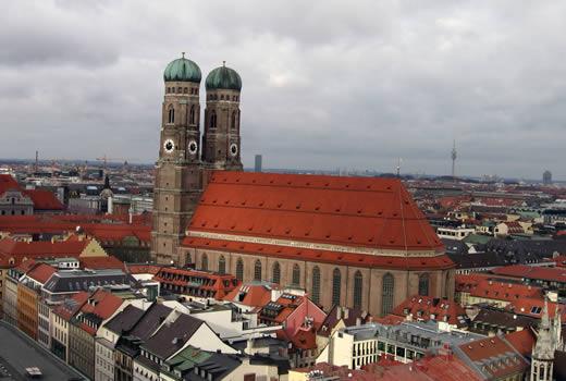 Frauenkirche - das Wahrzeichen Münchens