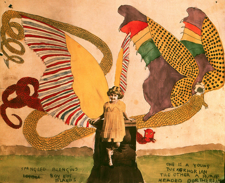 Drawing from In the Realms of the Unreal by Henry Darger.