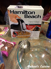 Melissa's Cuisine: Baking Made Easier with Hamilton Beach Mixers